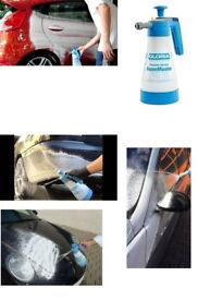 GLORIA FM10 1.0 Litre FoamMaster Hand-Operated Foam Sprayer, 3 bar