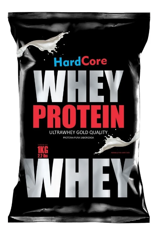 Whey Protein Hardcore Gold (Choose your pak of 1kg /2kg /3kg /5kg or 10 Kg!)