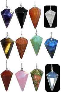 BEAUTIFUL-FACETED-CRYSTAL-PENDULUM-35MM-VARIOUS-ONES-TO-CHOOSE-FROM