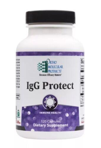 Ortho Molecular Igg Protect 120 Capsules Exp. 12/21 FRESHEST DATE! FAST SHIP!