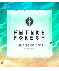 Future Forest Festival Ticket July 28-31
