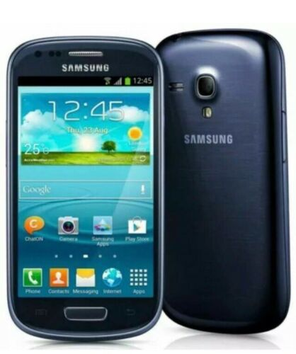 Android Phone - NEW SAMSUNG GALAXY S3 MINI UNLOCK MOBILE PHONE ANDROID SMARTPHONE Blue