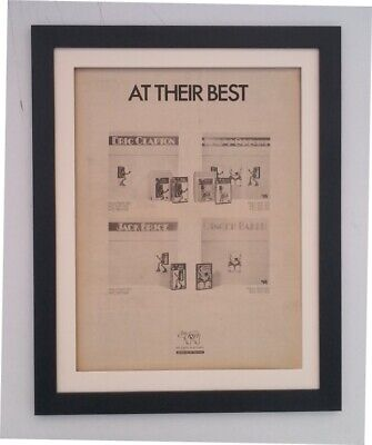 CREAM*AT Their Best*1973*RARE*ORIGINAL*POSTER*AD*QUALITY FRAMED*FAST WORLD (Humans At Their Best)