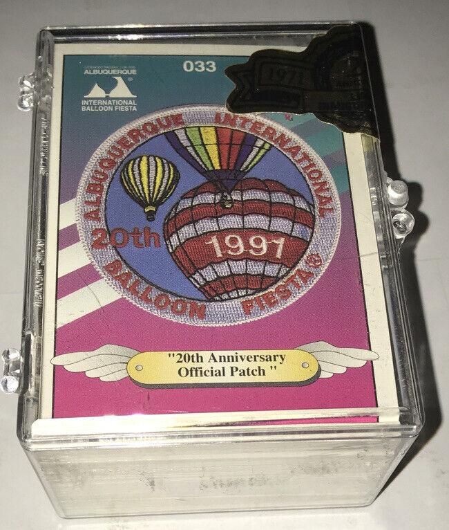 1991 Albuquerque International Balloon Fiesta Trading Card Set