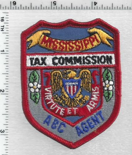 Tax Commission ABC Agent (Mississippi) 3rd Issue Shoulder Patch