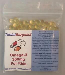 Tablet bargains omega 3 fish oil for kids 300mg 100 for Sam s club fish oil