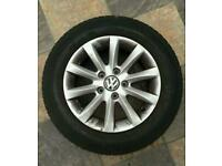 Vw golf alloys wheels