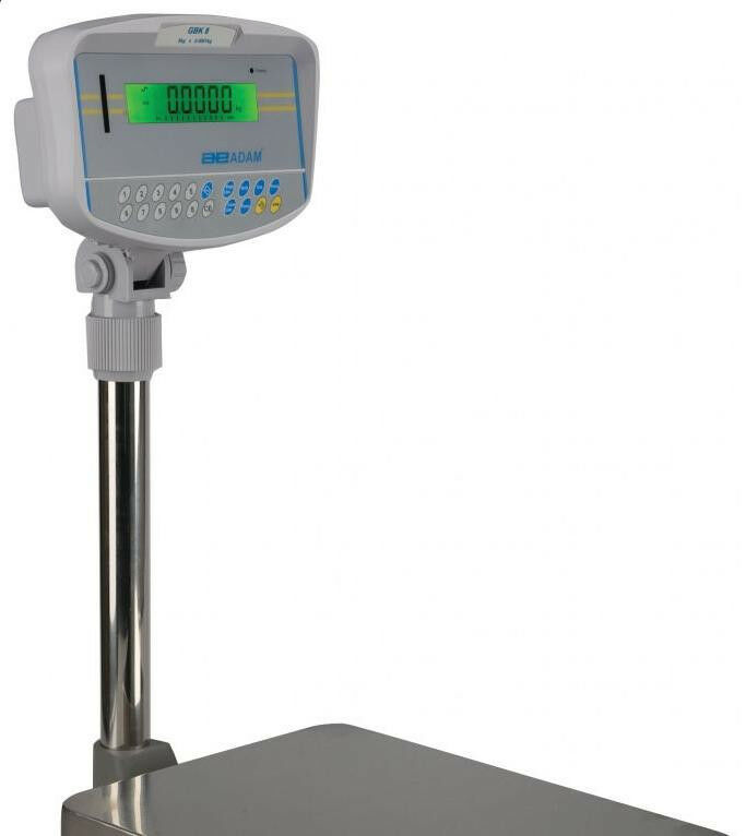 """Adam Equipment GBK 35A Bench Scale,35 X0.001 lb,Checkweighing,Plate 16""""X12"""",New"""