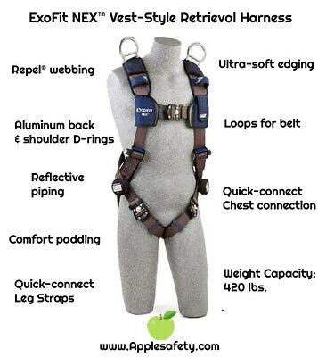 Dbi Sala Exofit Nex Vest-style Safety Fall Protection Read Add Harness