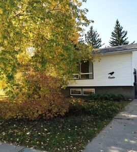 Full house in Fairview with large fenced yard and garage!