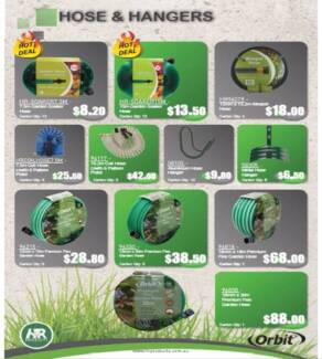 Hoses and hangers (Price starts from $6)