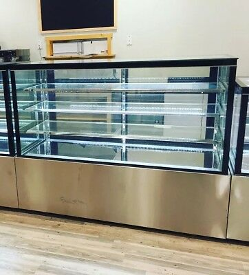 Bakery Case Display Show Case Pastry 72 Display Deli 6 Cake Refrigerator New