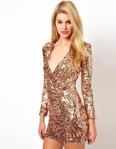 *** FRENCH CONNECTION SEQUIN DRESS ***