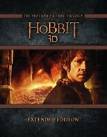 The Hobbit Trilogy - Extended Edition blu-ray 3D combo