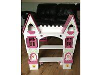 Beautiful kids shelf/castle -