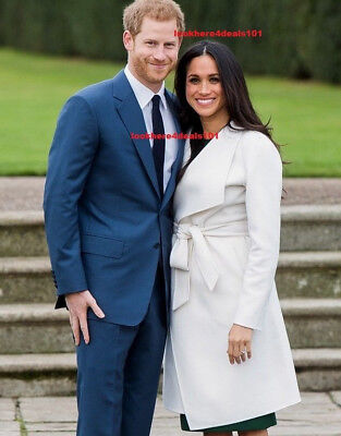 Prince Harry Photo 5X7 Meghan Markle Royal Engagement London Free Shipping