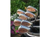 TaylorMade Burner irons 5 iron to SW, excellent condition £65ono