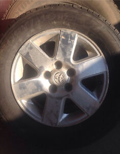 Toyota alloy rims and tires