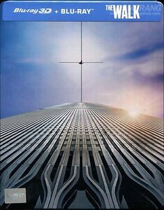 3D + BLU RAY! THE WALK LIMITED EDITION STEELBOOK