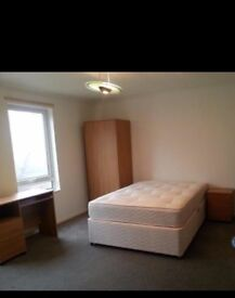 A lovely, well furnished double bedroom at the Orton centre with all shops located