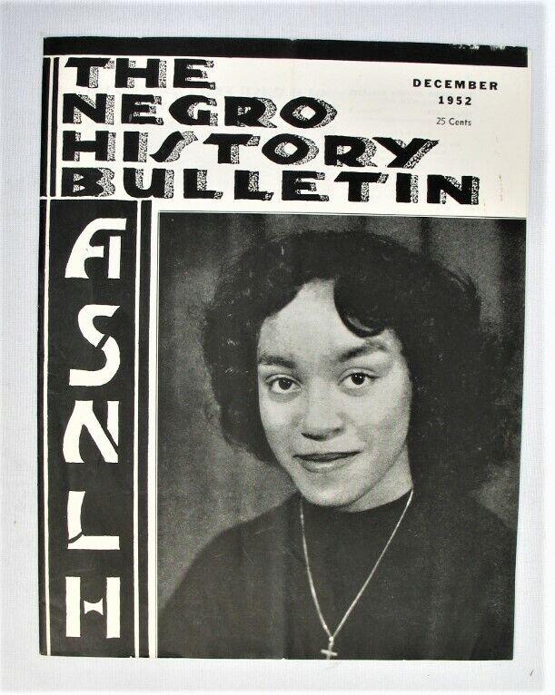 Vintage Magazine - The Negro History Bulletin - ASNLH -- Dec. 1952