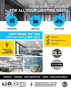 Wholesale & Retail LED Lights & Fixtures - Best Quality and Pricing - Deal Direct & Save - DLC Approved and Much More