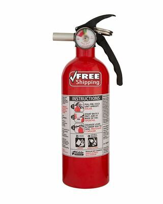 Kidde Fire Extinguisher Home Car Safety Dry Chemical Garage Kitchen 5 Bc Rated