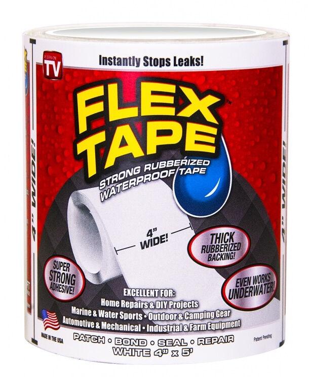 Flex Tape Waterproof Tape  4 x 5' WHITE