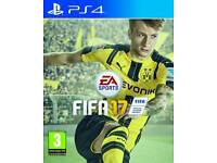 fifa17 and COD Blacks ops3 pS4