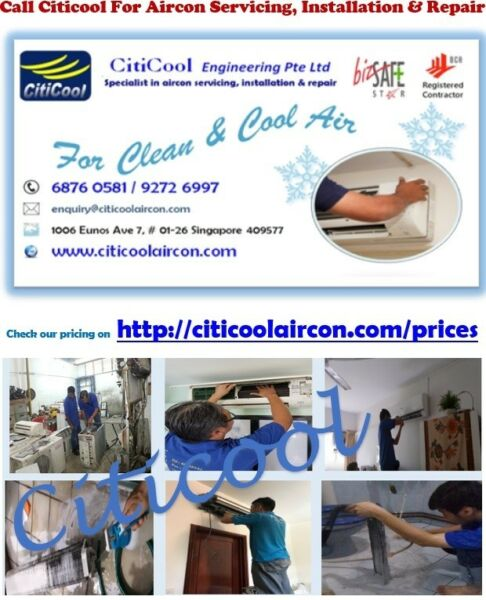 Chemical Wash Promotion and Aircon Servicing Deals (6876 0581/9272 6997)