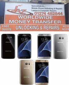 UK Stock Original Samsung Galaxy S7 Edge ,32GB,Unlocked,Like Brand New,With Warranty