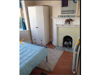 Bright double rm near hospital & town with parking in friendly family home