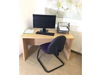 LUXURY OFFICE DESK AND CHAIR
