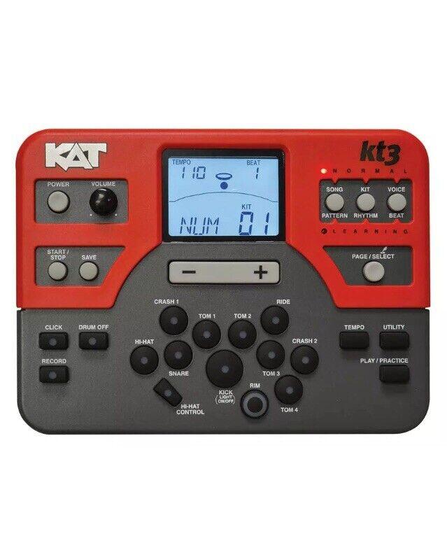 Pre Owned KAT Percussion Digital Drum Sound/Kt3M Trigger Module/ Brain