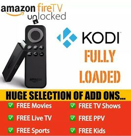 Amazon Fire TV Stick - Free Movies, TV Shows, Sports, PPV, Kids