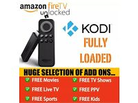 Amazon Fire TV Stick Fully Loaded TV Shows, Movies, Sports, Kids, Adult, Mobdro