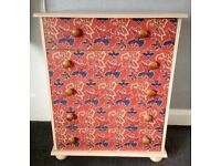 Upcycled SPIDERMAN DESIGN chest of drawers