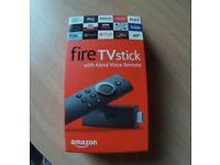 Brand New Amazon Alexa Firestick. With Add Ons.