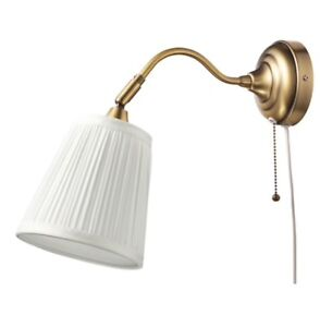 IKEA Arstid Brass Sconces Pair for only $25!