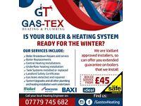 Underfloor Heating, Boiler installation, repairs