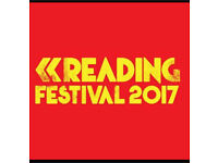 Weekend Camping Tickets - Reading Festival 2017