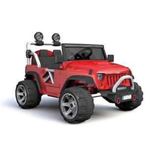 Jeep Two (2) Seater 12V Kids Electric Ride On Car Remote Control