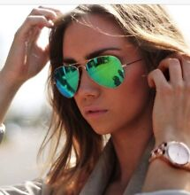 Rayban Aviators green lenses Yokine Stirling Area Preview