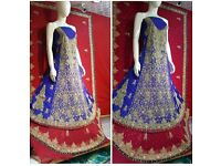 Asian/Indian/Pakistani Designer Anarkali Wedding Salwar Kameez Suit/made to order
