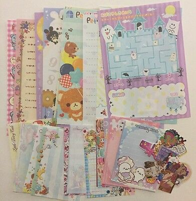 Kawaii Grab Bag Lot Memo Sheets Sticker Flakes Stationary Planner