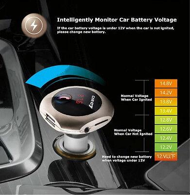 Bluetooth Wireless MMC MP3 Player FM Transmitter Modulator Car charger iPhone 7