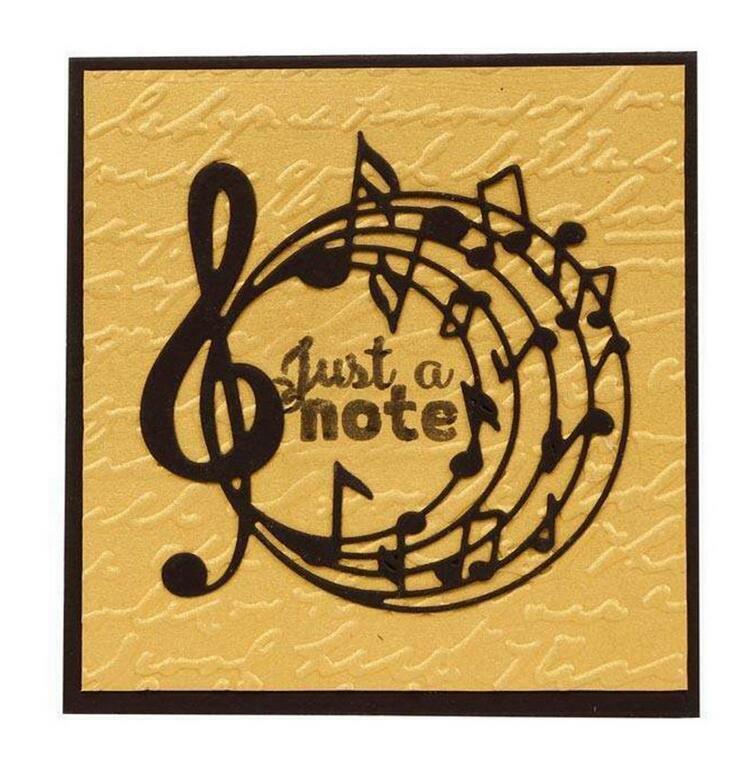 Cards UK Seller. Musical Notes Metal Craft Die Scrapbooking