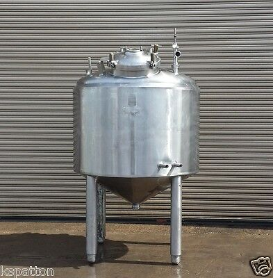 Cherry Burrell 250 Gallon Ss Jacketed Batch Processor Tank