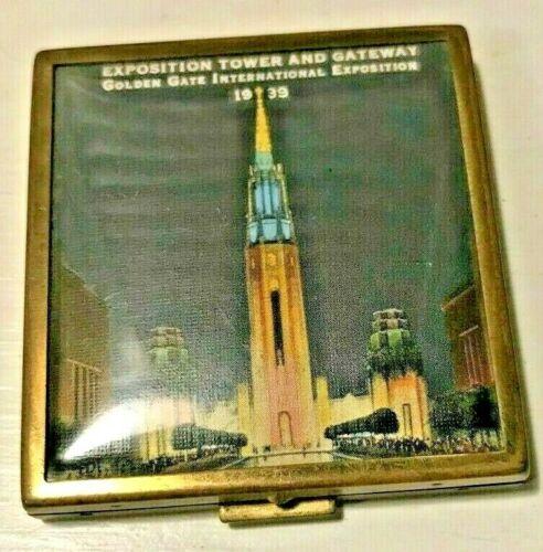 1939 San Francisco Golden Gate International Exposition Zell  Compact  Night