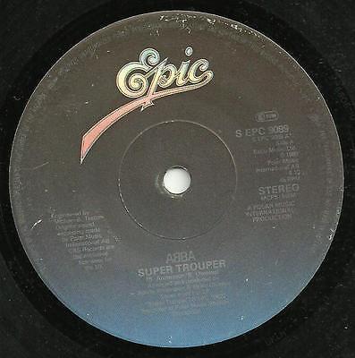 ABBA - SUPER TROUPER / THE PIPER - EPIC 1980 - 80s EUROPOP LOVE BALLAD